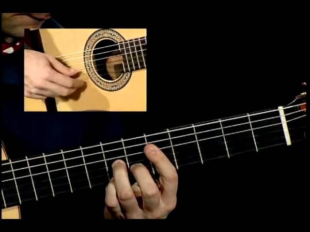 Solea, flamenco guitar with tab