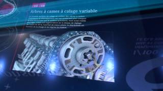 ᴴᴰ Schéma 3D moteur MERCEDES allumage, injection bluedirect MONDIAL AUTO 2010 PARIS