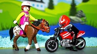 Мультики. МАШИНКИ и животные у Видео для детей - Похищение лошадки! Мультфильм для детей Про машинки