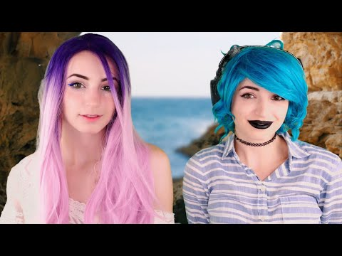 ASMR   The Mermaid's Shop Assistant   Twin 60fps
