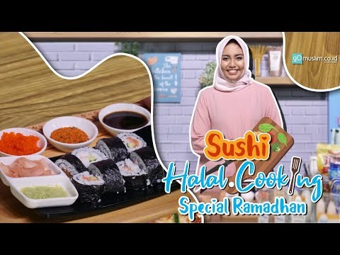Sushi | Halal Cooking Spesial Ramadhan