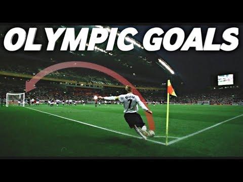 Top 10 Olympic Goals !!! Kroos - Salah - Beckham - Carlos - Di Maria - Recoba - Henry - Ronaldinho