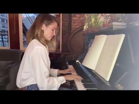 Dianna Agron singing