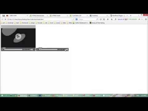 Learn HTML Basics -add Audio