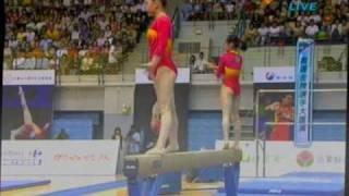 1.奧運金牌選手大匯演(雙人平衡木-李姍姍,鄧琳琳)