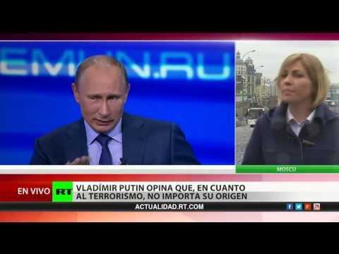 Putin: EE.UU. y Rusia deben cooperar para evitar tragedias como la de Boston
