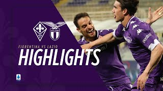 Highlights Fiorentina vs Lazio 2-0 (Vlahovic 2)