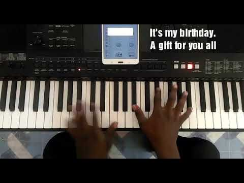 Piano Chords on Be Thou Exalted inspire by Sonnie Badu