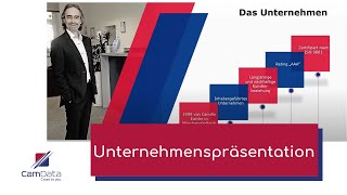 CamData GmbH - Unternehmenspräsentation