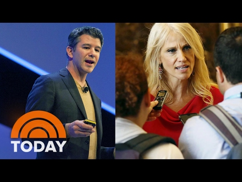 Uber CEO Travis Kalanick Quits Advisory Council, Kellyanne Conway Under Fire For False Info | TODAY
