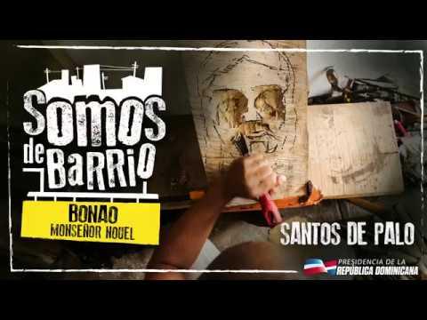 VIDEO: Bonao, Monseñol Nouel. Santos de Palo