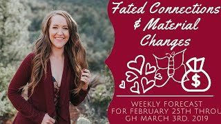 FATED Connections & MATERIAL CHANGES! Weekly Astrology Forecast for ALL 12 SIGNS!