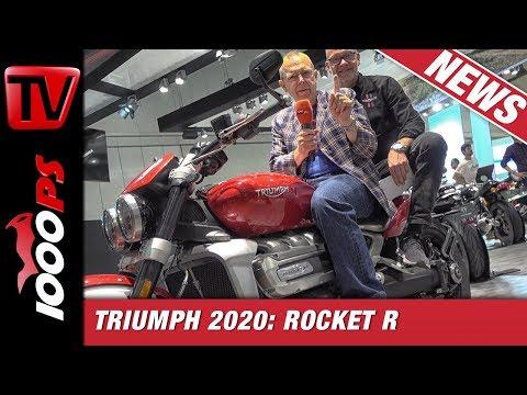 Triumph Neuheiten 2020 live auf der EICMA 2019 : Rocket R knockt Zonko in Mailand aus