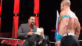 WrestleMania United States Championship Contract Signing: Raw, March 16, 2015