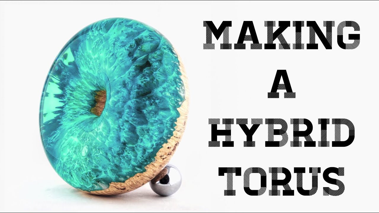 #51 Making A Hybrid Torus or Donut or Bagel 😁