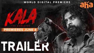 Kala Telugu Trailer   Tovino Thomas   Rohith V S    Premieres June 4 on aha Image