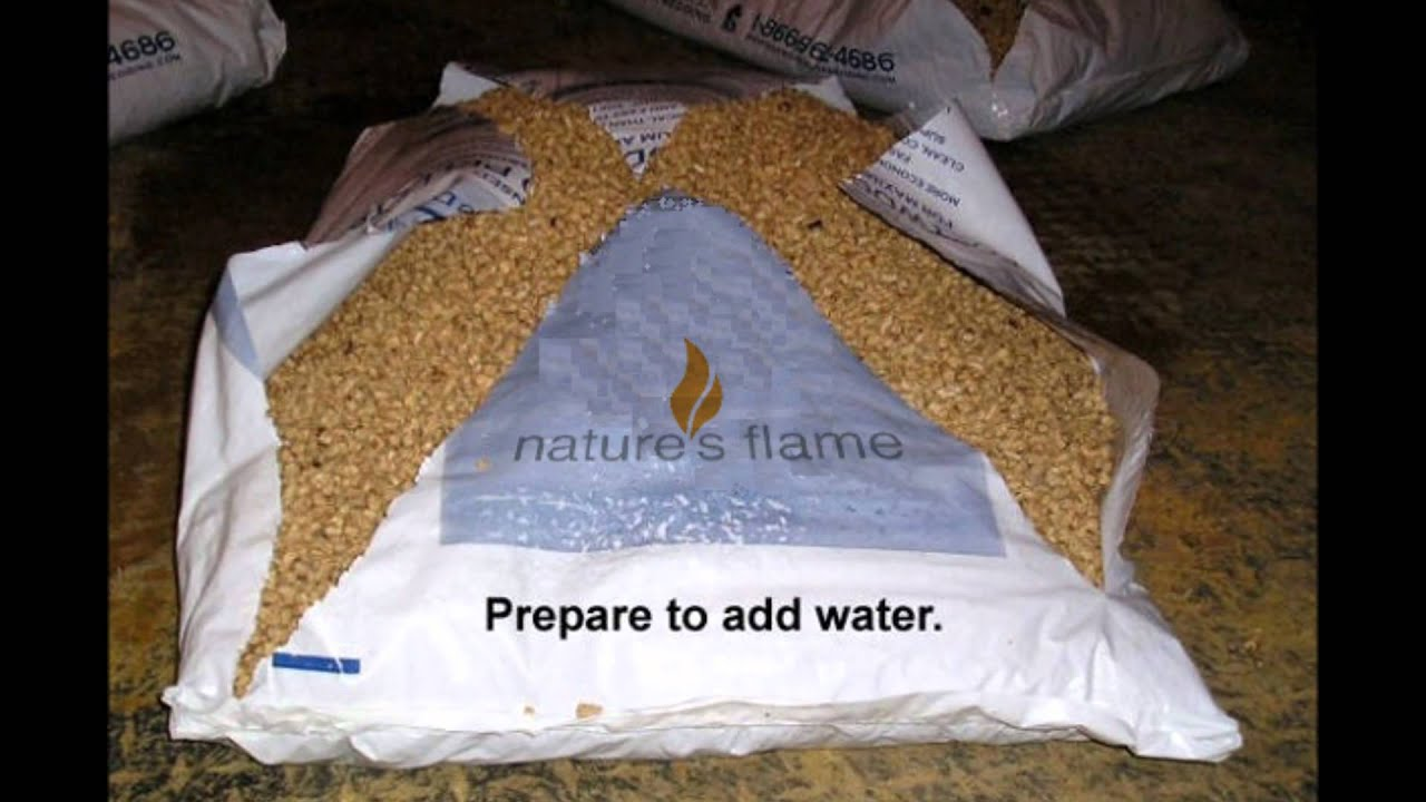 step-by-step instructions how to prepare pellet horse bedding