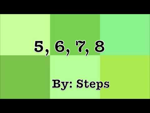 5678 by Steps -  Lyrics [Fun Video] [HD]