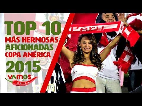 Las 10 aficionadas más hermosas de la Copa América Chile 2015