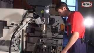 Универсальный фрезерный станок FHV50PD, FHV-50PD(Вертикальный фрезерный станок Proma FHV-50PD с УЦИ предназначен для обработки деталей или корпусов из различных..., 2014-04-16T09:54:26.000Z)