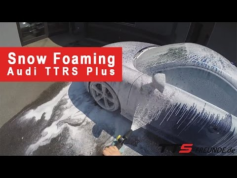 snow foaming wie wasche ich mein auto richtig youtube. Black Bedroom Furniture Sets. Home Design Ideas
