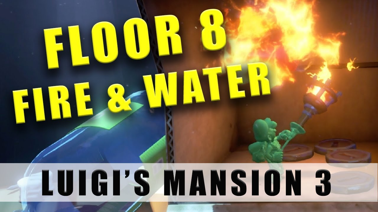 Mansion 3 Floor 8 Fire and Water