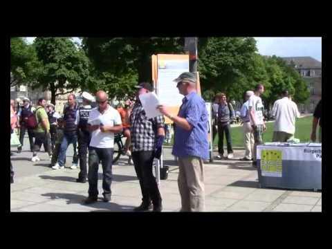 Michael Mannheimers fulminante Rede in Stuttgart