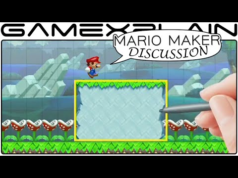 Mario Maker Discussion - Game Awards Trailer Thoughts & Impressions (Wii U - Game Awards)