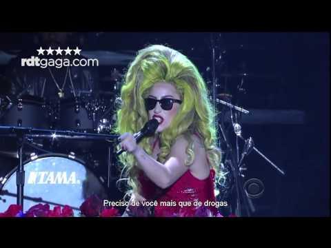 Lady Gaga - Dope (Late Show Legendado)