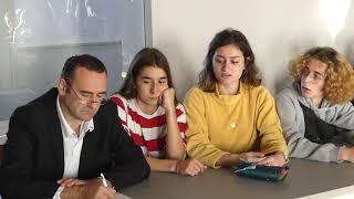 Quand le maire d'Orthez écoute (très) attentivement les lycéens