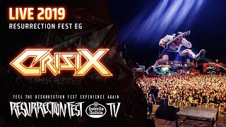Crisix - Ultra Thrash (Live at Resurrection Fest EG 2019) (Viveiro, Spain)