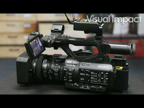 Sony PXW-Z280 And Z190 4K Camcorder Overview