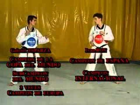 """E.D.T. Taekwondo """"Ataques"""" 1/4"""