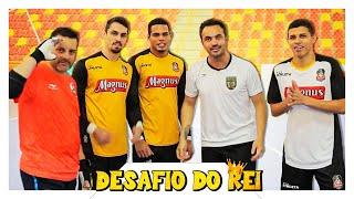 Time Falcão x Magnus Futsal - Quem levou a melhor no desafio de finalização?