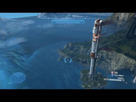 Halo: Reach - Building Collapse
