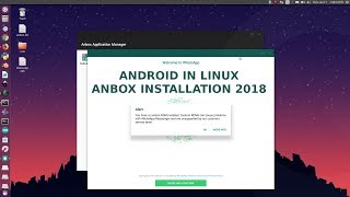 Install and Run Android in Linux | july-2018 Anbox installation step by step guide