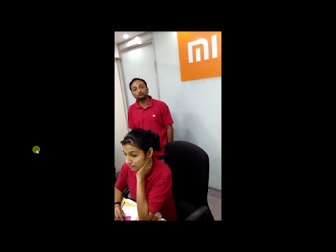 mi customer  care GIRL GOT ANGRY ON COUSTMER