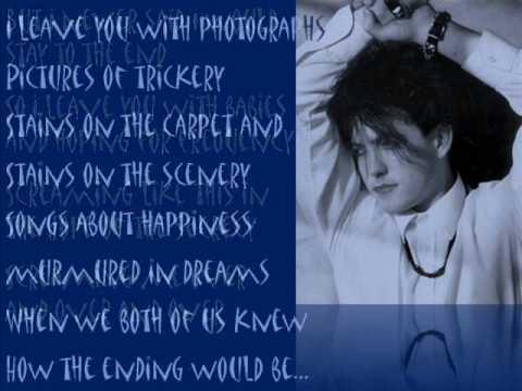 The Cure DISINTEGRATION (with Lyrics)