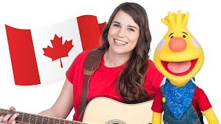 O Canada (Bilingual Version) | Canada's National Anthem | Caitie's Classroom