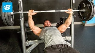 Top-To-Bottom Chest Workout | Dylan Thomas