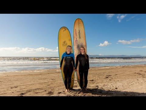 Behind the Hero shoot: Deirdre Mullins meets Irish surfer Easkey Britton