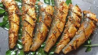 fish fry kerala style