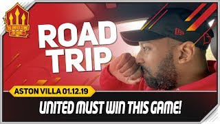 Manchester United vs Aston Villa Road Trip!