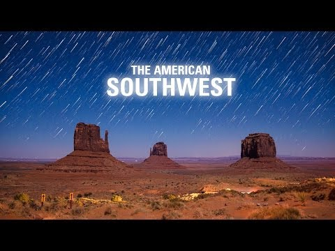 The American Southwest - A Short Time-lapse Journey