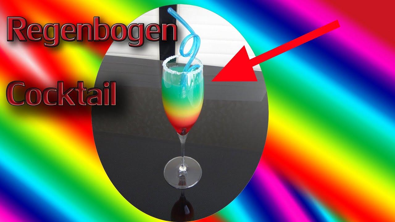 regenbogen cocktail rainbow cocktail rezept youtube. Black Bedroom Furniture Sets. Home Design Ideas