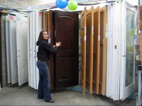 The different types of wood doors youtube for Types of wood doors are made of