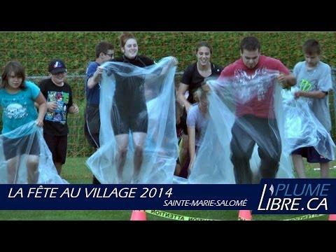 La Fête au village 2014 | Sainte-Marie-Salomé