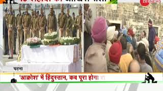 Security forces pay tribute to jawans martyred at Pulwama attack