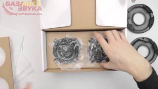 видео Тест коаксиальной акустики 10 см