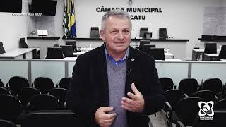 Sargento Laudo fala de transporte, atuação do prefeito e visita à obra da barragem do Rio Pardo